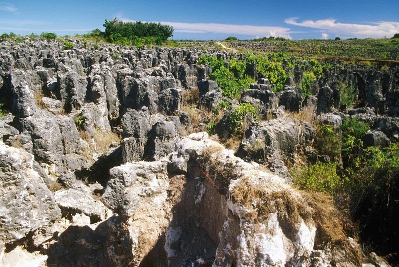 Tambang fosfat di Nauru